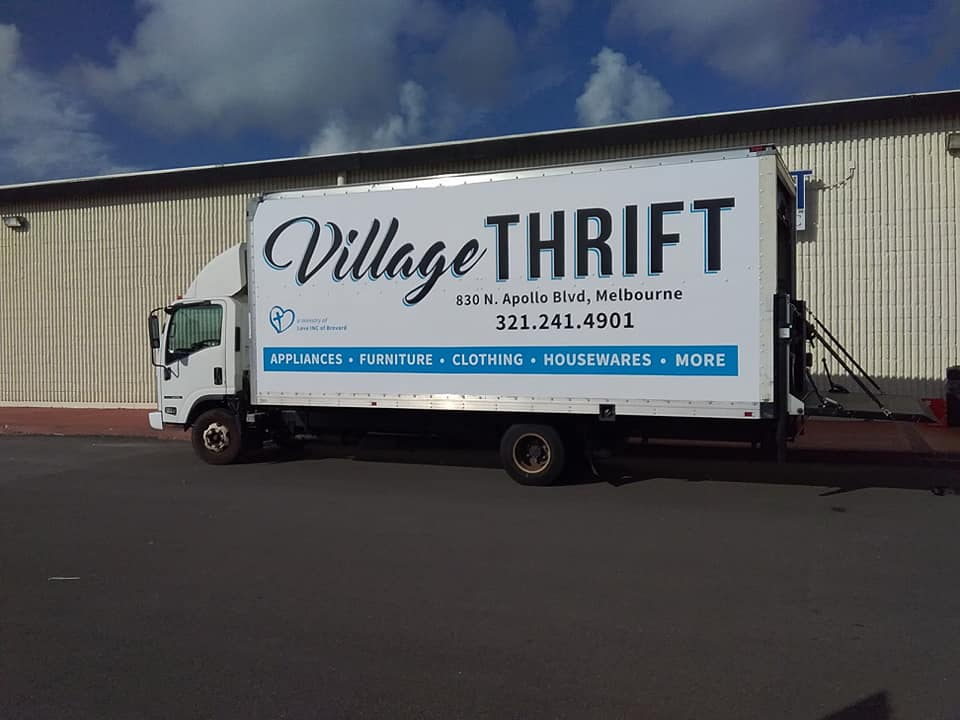 Village Thrift - Pick Up My Donation
